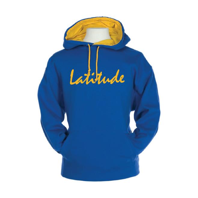 Latitude 38 Pullover Hooded Varsity Sweatshirt