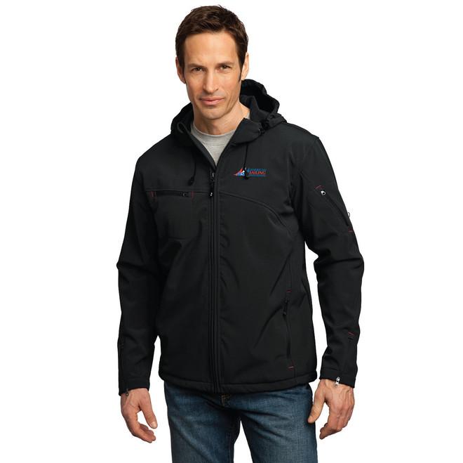 American Sailing Association Waterproof Hooded Soft Shell Jacket (Customizable)