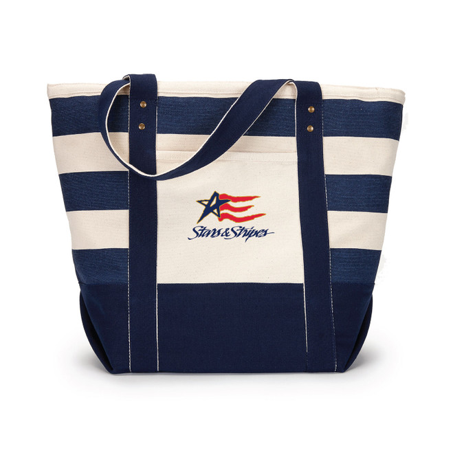 Dennis Conner Stars & Stripes '92 Zippered Canvas Boat Tote