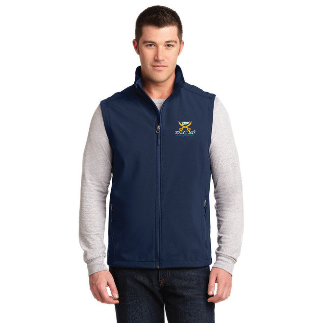 Buccaneer North Americans 2019 Men's Soft Shell Vest (Customizable)