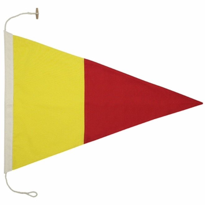 Signal Pennant #1 by Authentic Models