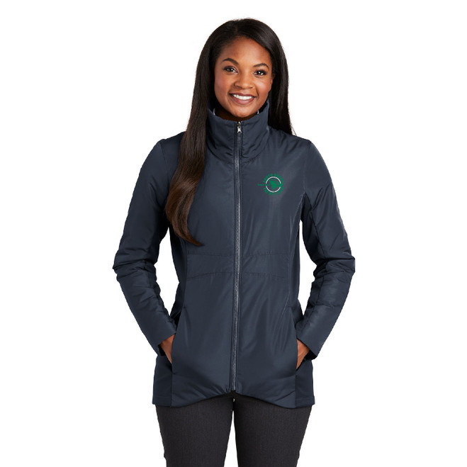 South Shore Yacht Club Women's Insulated Jacket (Customizable)