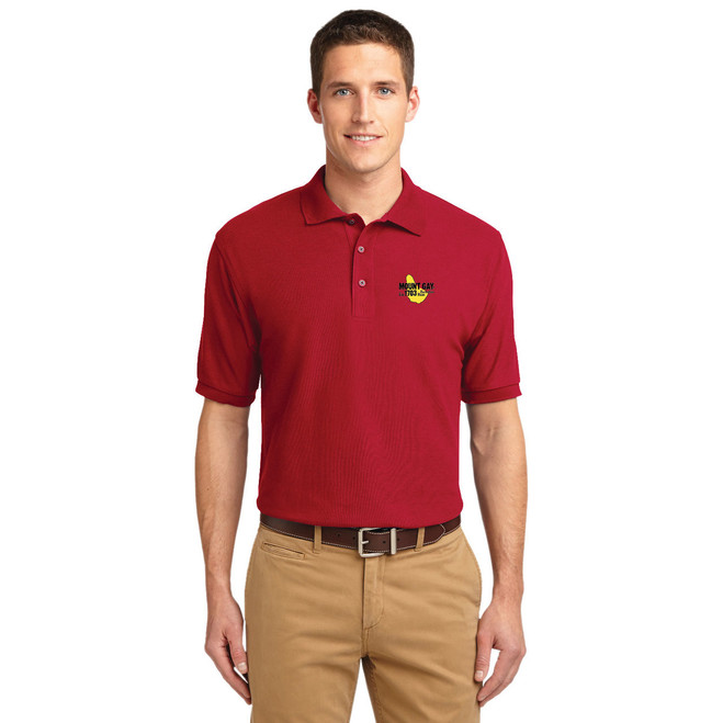 Mount Gay® Rum Men's Silk Touch Cotton Polo by Port Authority®