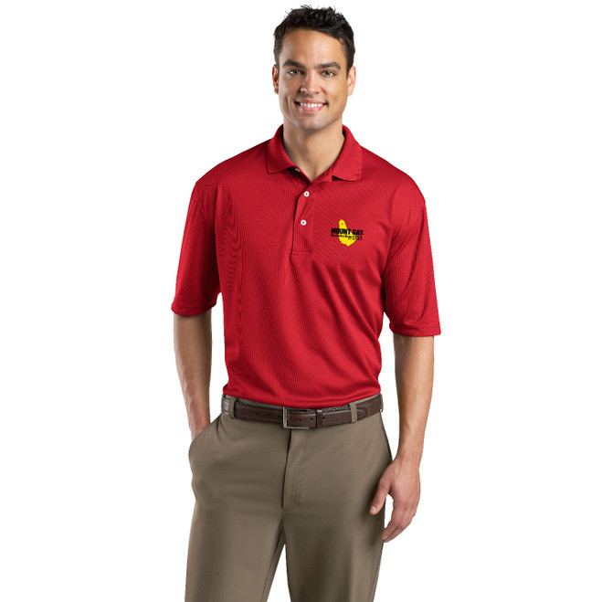 Mount Gay® Rum Men's Moisture Wicking Polo (Customizable)