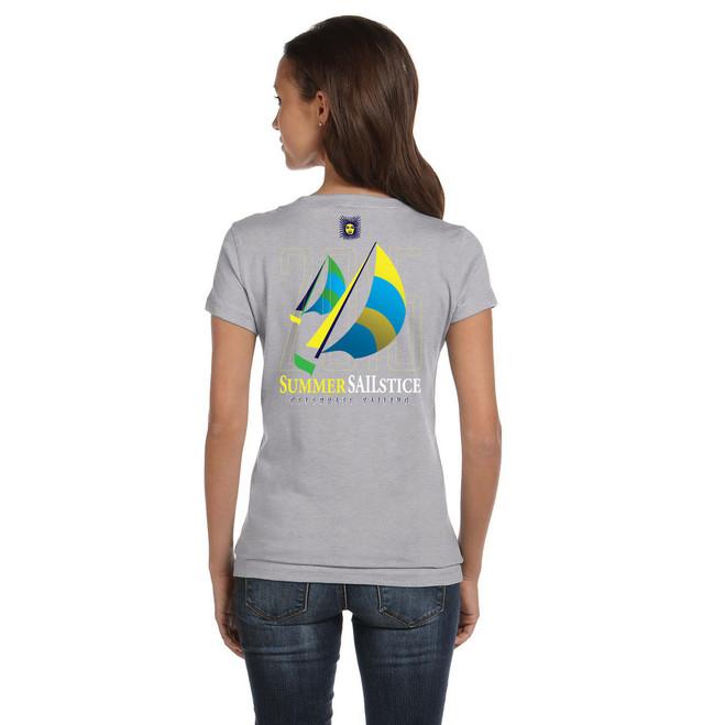 2015 Summer Sailstice Women's V-Neck T-Shirt