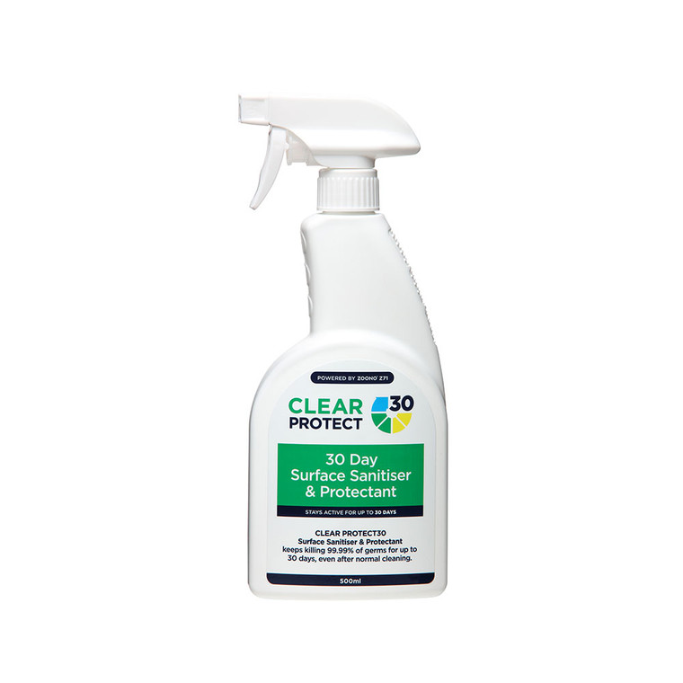 Clear Protect 30 Surface Sanitiser & Protectant 500ml