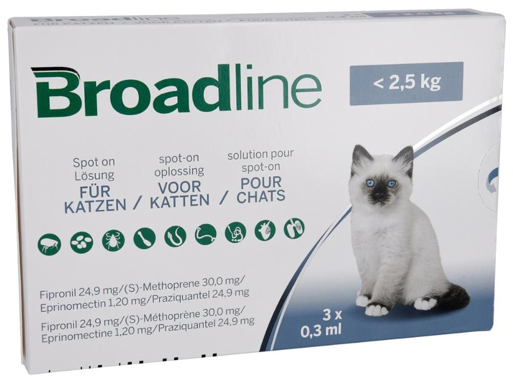 Broadline for Small Cats - Box Front
