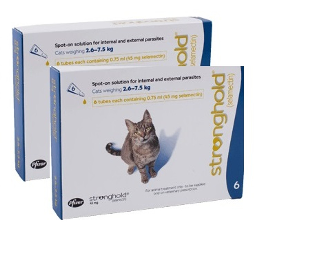 Stronghold for Cats 5.1-15 lbs - Blue 12 Pack