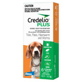 Credelio PLUS for Dogs 12.1-25 lbs (5.5-11 kg) - Orange 6 Tablets