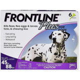 Frontline Plus for Dogs 45-88 lbs (20.1-40 kg) - Purple 6 Doses (08/2022 Expiry)