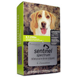 Sentinel Spectrum Chews for Dogs 8.1-25 lbs (4-11 kg) - Green 3 Chews