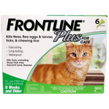 Frontline Plus for Cats Green 6 Doses (06/2022 Expiry)