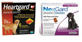 NexGard and Heartgard Combo for Dogs 50.1-60 lbs (22.1-25 kg) -  6 Month Bundle