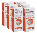 Bravecto Flea and Tick Chew for Dogs 9.9-22 lbs (4.5-10 kg) - Orange 6 Chews