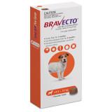 Bravecto Flea and Tick Chew for Dogs 9.9-22 lbs (4.5-10 kg) - Orange 1 Chew