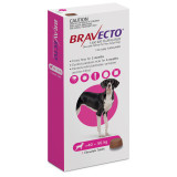 Bravecto Flea and Tick Chew for Dogs 88-123 lbs (40-56 kg) - Pink 1 Chew
