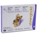 Stronghold for Dogs 5.1-10 lbs (2.6-5 kg) - Violet 6 Doses