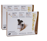 Stronghold for Dogs 10.1-20 lbs (5.1-10 kg) - Brown 12 Doses