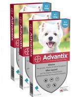 Advantix for Dogs 9-20 lbs (4.1-10 kg) - Aqua 12 Doses