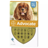 Advocate for Dogs 9-20 lbs (4.1-10 kg) - Aqua 3 Doses Front Packaging