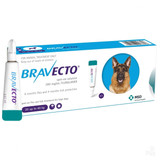 Bravecto Topical Solution for Dogs 44-88 lbs (20-40 kg) - Blue 1 Dose