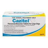 Cazitel Flavored Allwormer Tablets for Large Dogs up to 77 lbs (up to 35 kg) -  42 Tablets