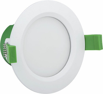 9W Tri-Colour Dimmable LED Downlight Kit 90mm Cutout