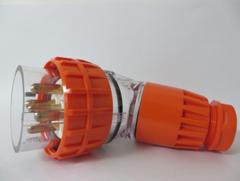 3 Phase 4 Pin ANGLED Industrial plug IP66