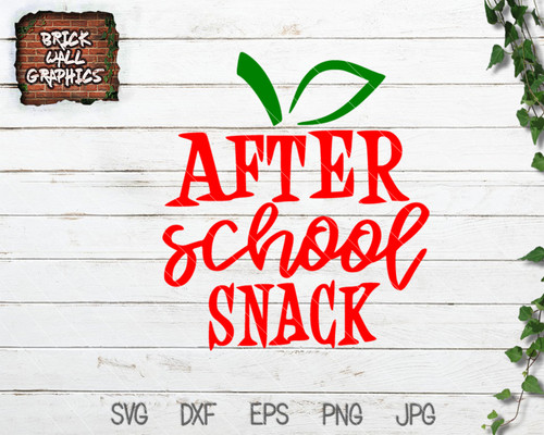 after school snack svg, teacher svg, teacher gift