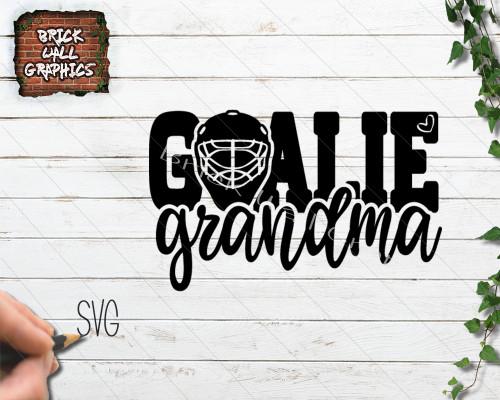 4ef452f40fbcd Hockey Goalie Grandma SVG File