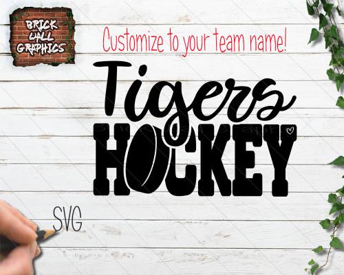 Custom Hockey SVG file