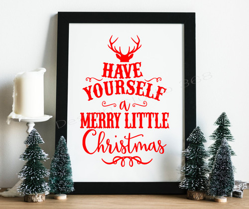Have Yourself A Merry Little Christmas.Have Yourself A Merry Little Christmas Digital Print