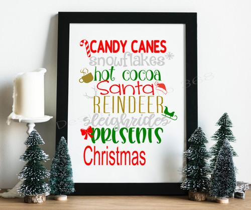 Christmas Digital Print