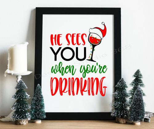 Christmas Home Decor Digital Download