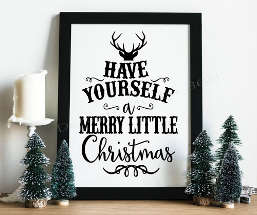 Christmas Decor Digital Print
