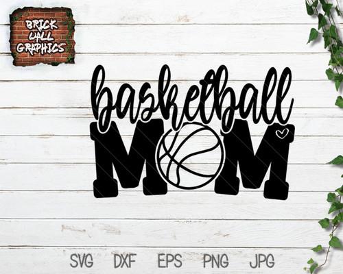 basketball mom svg