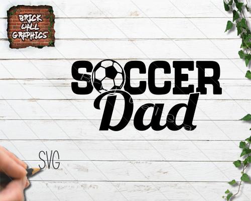 soccer dad svg file