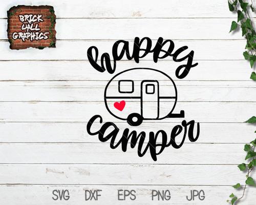 Happy Camper SVG File