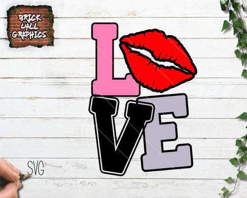love svg files, lips svg file, valentines day svg file, valentines day cutting file