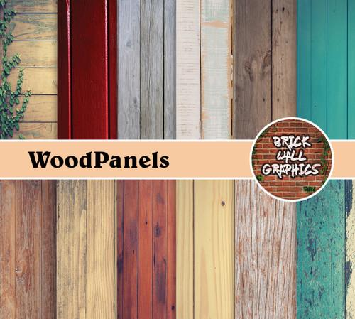 wood panels digital scrapbooking paper, wood background digital paper, scrabooking, digi scrap