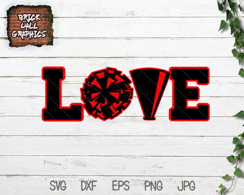 Love Cheer SVG