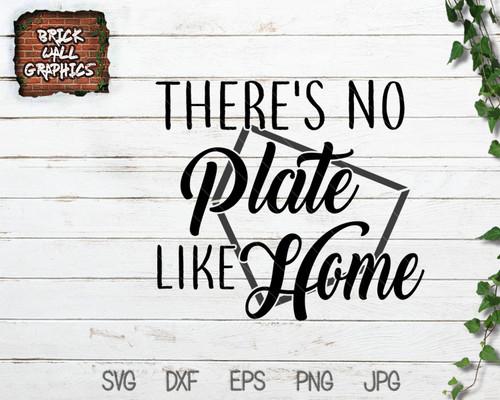 no plate like home baseball svg