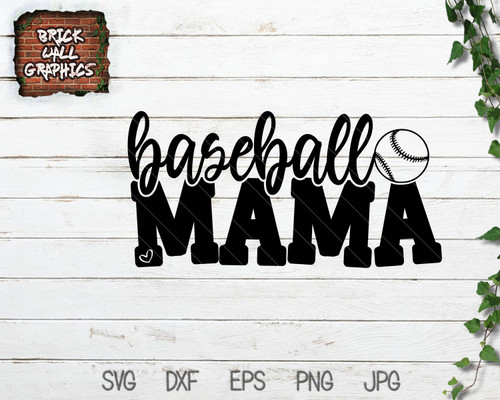 Baseball Mama SVG File