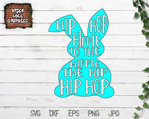 Easter Bunny Rapper SVG File