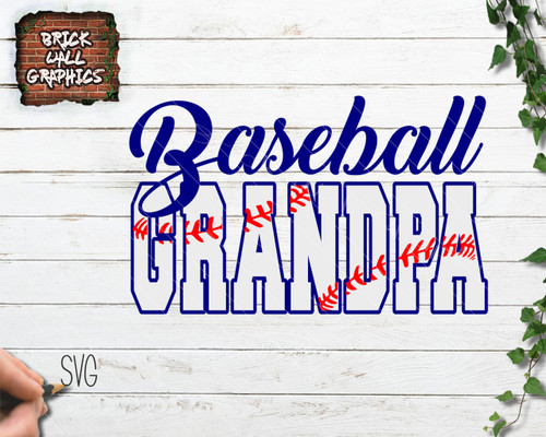 baseball grandpa svg file, proud baseball grandpa svg file, cricut, silhouette, baseball iron on