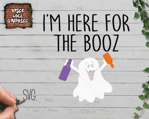 I'm here for the booz Halloween svg file, cricut, silhouette