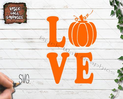 halloween svg file, pumpkin svg file, love