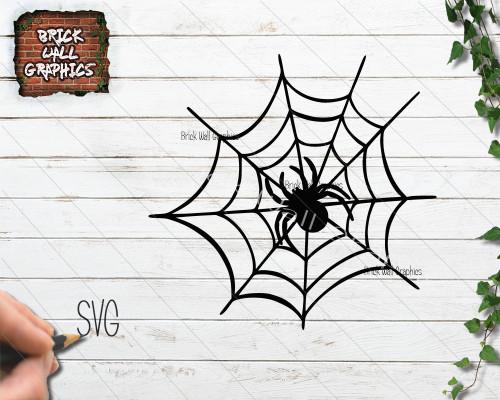spider web svg file, halloween svg file