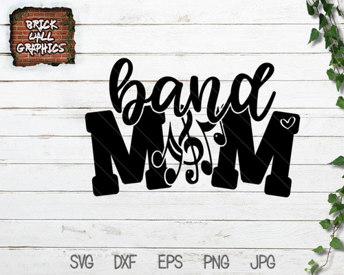 band mom svg