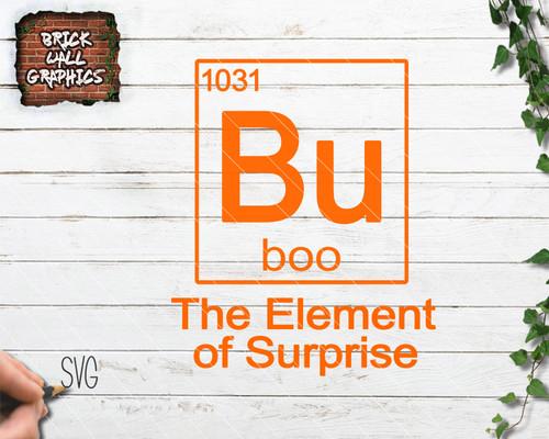 element of surprise, svg, Halloween svg, cricut, silhoutte, cut files, svg file for